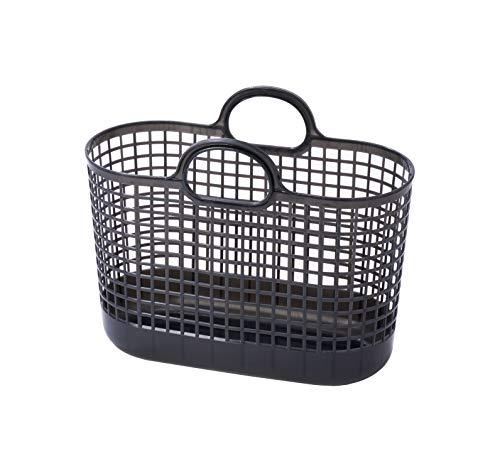 ライクイット (like-it) ランドリー 洗濯 収納 タウンバスケット グレー LBB-09C バイオマスプラスチック 約90%使用