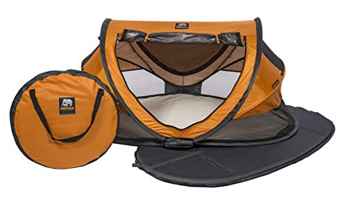 Deryan Travel Cot Peuter Luxe Orange Travel Cot Peuter Luxe Orange, , orange