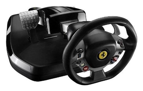 Preisvergleich Produktbild Lenkrad TM Ferrari Vibration GT Cockpit 458 Italia Edition für X360 und PC