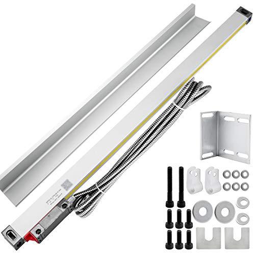 Frantools Achsen-Digitalanzeige-Anzeige-Fräsmaschine-Werkzeugmaschinen-lineare Skala 550MM für Fräsmaschine (550MM)