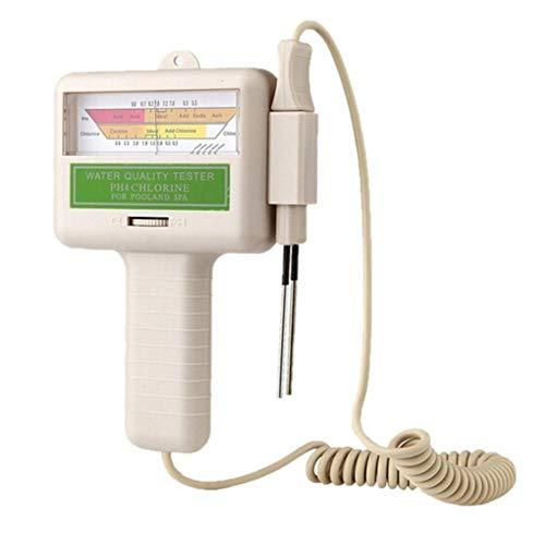 SZLX PC101 PH Tester Wasserqualitätstester Schwimmbad Spa Aquarium PH Meter Wasserqualität PH CL2 Chlortester