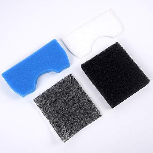 QUJJP Accesorios para aspiradoras 5 PS Filtro de Espuma de aspiradora Compatible con Samsung SC43-47 SC4520 SC4740 Reemplazo Filtros