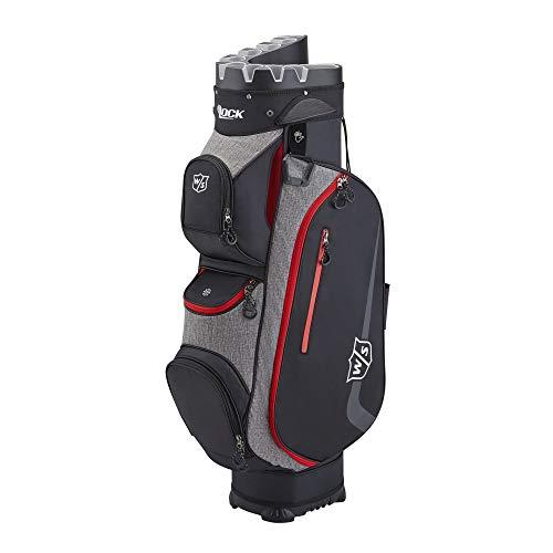 Wilson Staff Sac de golf, I LOCK III Cart Bag, Sac Trolley,...