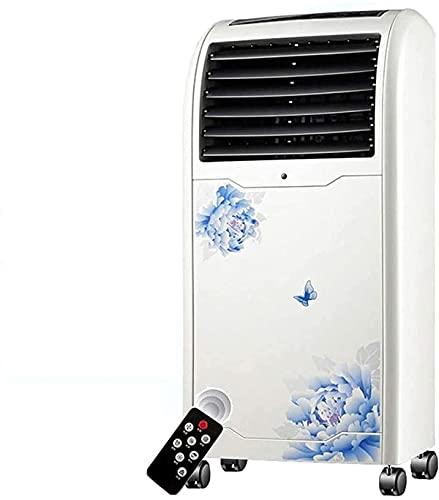 Aria condizionata Ventola Aria condizionata portatile, Deumidificatore, Ventilatore, Per camere fino a 150 m², Raffreddatore d'aria con telecomando (80W) Personal Cooler