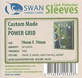 Kartenhüllen, 70mm x 70mm, 100 Hüllen, Premium -
