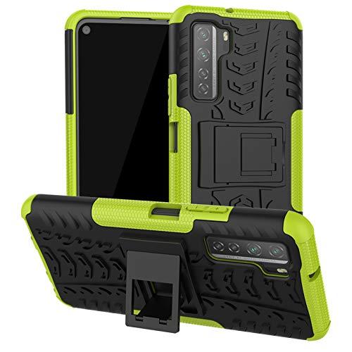 betterfon | Hülle Huawei P40 Lite 5G - Handyhülle Handy Tasche Hybrid Hülle für Huawei P40 Lite 5G Grün