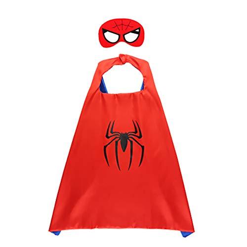 GREAHWD Mantelle da Supereroe per Bambini Giocattoli per Bambini di 3-9 Anni Regali per Bambini Costumi da Supereroe (1pc)