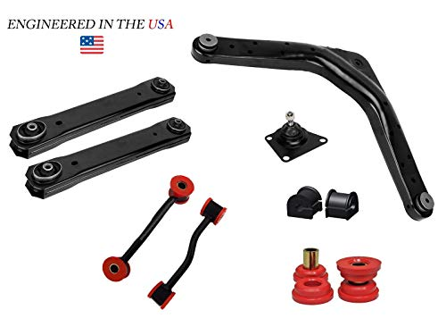 10PC Rear Control Arm Sway Bar Suspension Kit for 1999-2004 Jeep Grand Cherokee