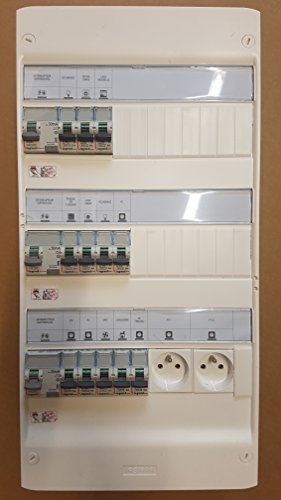 E-PLANETELEC - Tableau électrique monté câblé 35 à 100m² - LEGRAND - LEG-35/100SC