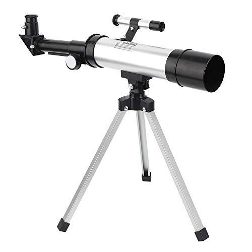 Hopcd Telescopio monocular astronómico, 90X HD Science Telescopio Espacial monocular, Refractor astronómico Profesional de refracción Espacial para Cielo/Estrella/Luna/Aves/exploración cósmica
