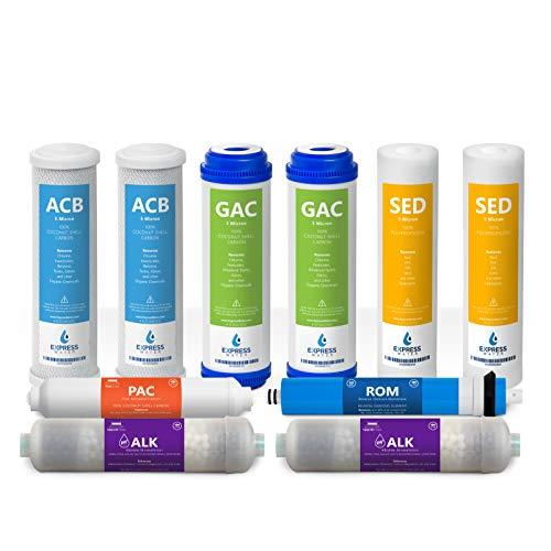 Express Water FLTSETALK105Q 1 Year Alkaline Reverse Osmosis ...