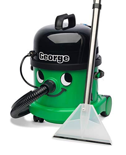 Henry W3791 George Wet and Dry Vacuum, 15 Litre, 1060 Watt, Green, Green   Black