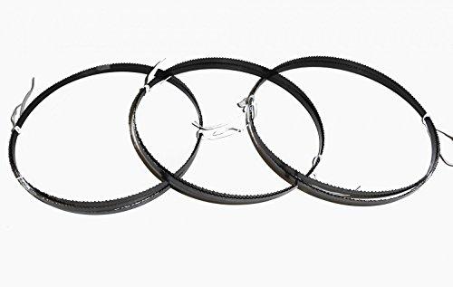 3 x Sägeband Bandsägeblatt 1400 x 6 x 0,36 mm 10 NZ Sperrholz Atika Einhell