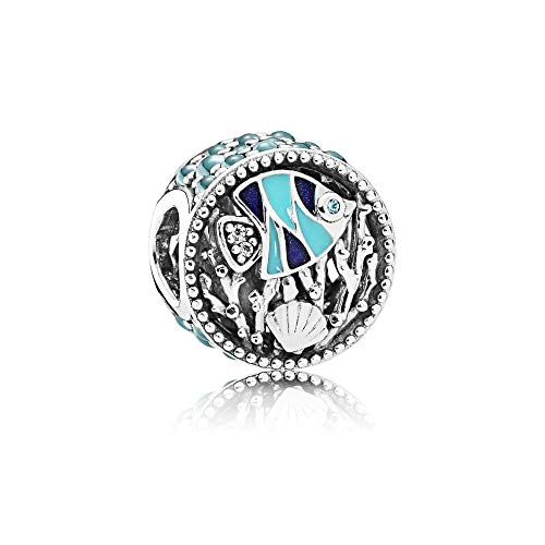 Pandora Unterwasserwelt Damen Charm 925 Sterlingsilber 11 mm