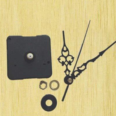 100 Sets Clock Mechanism DIY Kit for Clock Parts Wall Clock Quartz Hour Minute Hand Quartz Clock Movement Home Decoration