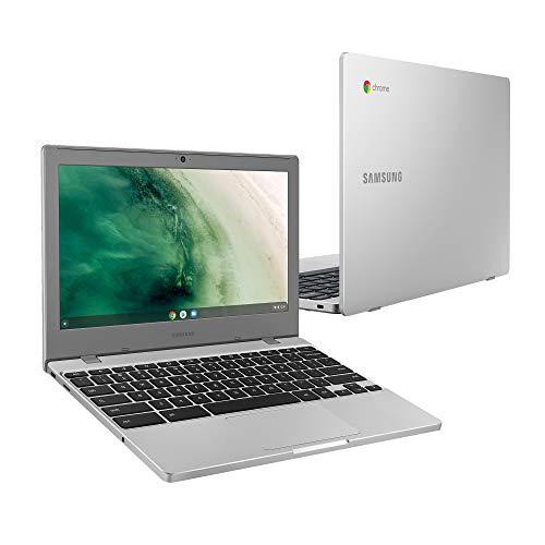 Samsung Chromebook 4 - 11.6 Inch Laptop 32GB (Intel Celeron N4000, 4GB RAM, 32 GB eMMC, Chrome OS), (UK Version)