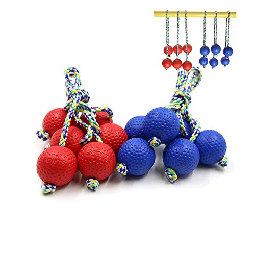 LOKATSE HOME Replacement Ladder Ball 6 Bolas for Lawn Yard Outdoor Toss Game