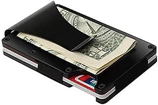 Stealodeal Black Exclusive ★ Metal Wallet Money Clip Card Holder