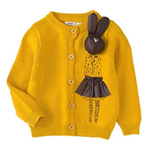 SKJJKT - Golf-Pullover & -Sweatshirts für Mädchen in Gelb, Größe 3 Jahre