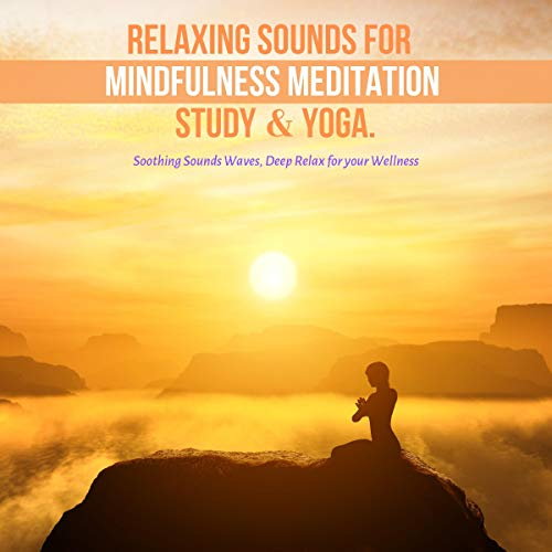 Relaxing Sounds for Mindfulness Meditation, Study & Yoga Audiobook By Relaxing Sounds Therapy cover art
