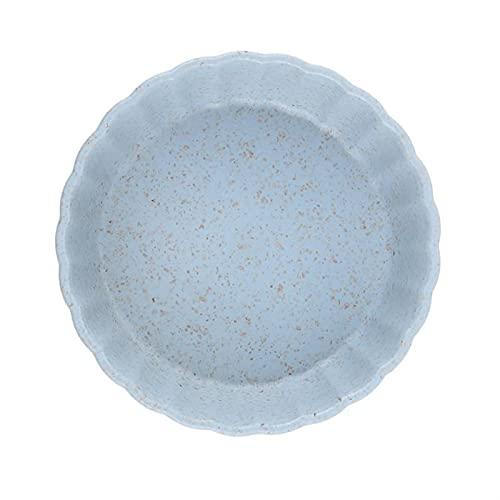 YSJUN Plato de condimento sólido para salsa de soja, plato de sal, platos de cocina pequeños multiusos (color: azul E, tamaño: libre)