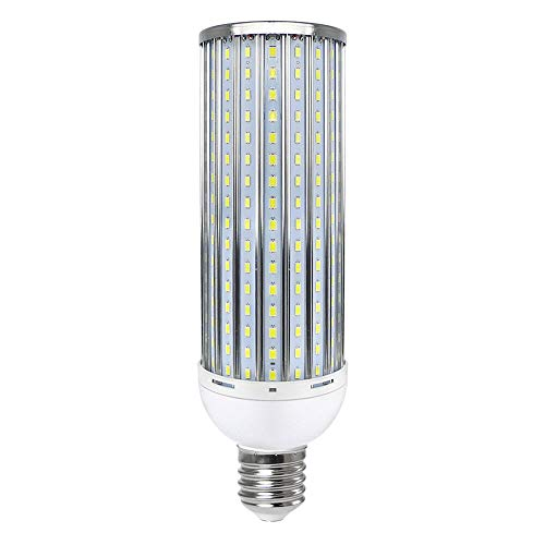 MENGS Bombillas LED E40 80W Aleación de Aluminio Lámpara LED, Blanco Frío 6000K lampara LED, AC 140-265V, 8000LM luces LED
