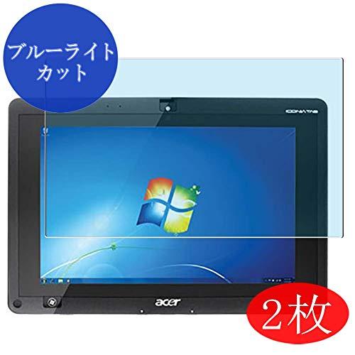 VacFun 2 Piezas Filtro Luz Azul Protector de Pantalla para Acer ICONIA Tab W500 10.1