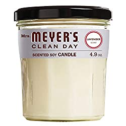 Mrs. Meyer's soy candle lavender