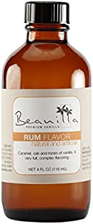 Natural & Artificial Rum Flavor - 4 fl oz