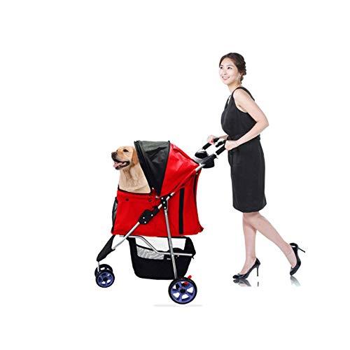 ZH1 Huisdier Tas Driewielige Huisdier Vouwwagen Hond Trolley Kinderwagen Kat Puppy Nest Ken Kennel Buggy Huis Auto Trein Carrier Huisdier Fietsen