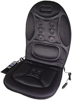 Wagan IN9988 Black 12V Ergo Comfort Rest Massage Magnetic Cushion
