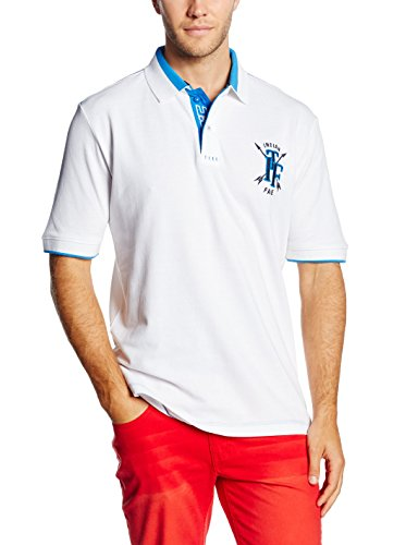 The indian face 06-020-02 Polo, Blanc, L Homme
