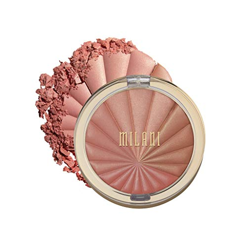 Milani Color Harmony Blush Palette - Berry Rays (0.3 Ounce) Vegan, Cruelty-Free Powder Blush Compact - Shape, Contour & Highlight Face with 4 Matte Shades