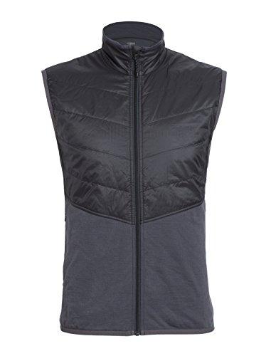 Icebreaker Herren Weste Ellipse Vest, Monsoon/Black, XL