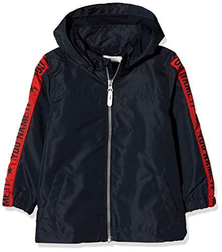 NAME IT Jungen Jacke NMMMELLON Jacket Sleeve Print, Blau (Dark Sapphire), (Herstellergröße: 104)
