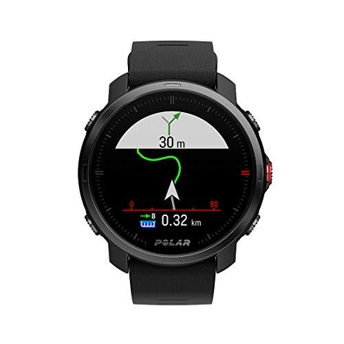 Polar Grit X – Robuste Outdoor-GPS-Uhr, Kompass, Höhenmeter, Strapazierfähigkeit auf Militärniveau für Wandern, Trailrunning, Mountainbiking – Extrem lange Akkulaufzeit - 6