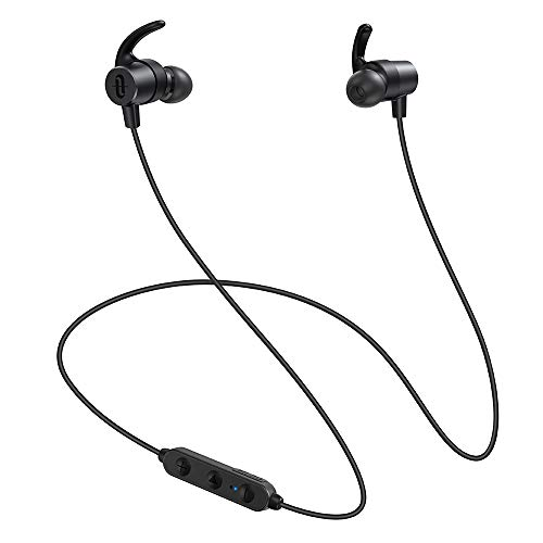 TaoTronics Bluetooth イヤホン TaoTronics Bluetooth 5.0 ワイヤレス 高音質 IPX5 防水 【SBC/AAC/apt-X HD対応 CVC8.0 EQ調整】 自動ペアリング 13時間連続再生 Siri対応 iPhone/ipad/Android適用 SoundElite 72