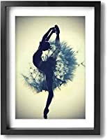 Home Decor Wall Picture, Modern Background Painting, Art Panel, Modern Art, Ballerina, Canvas Paintings, Living Room, Bedroom, Hallway, Entryway, Celebration, Gift,40*60cm unframed