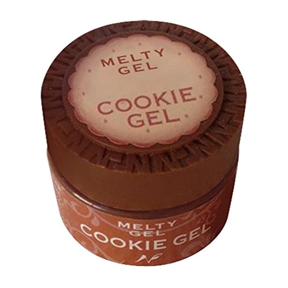 動作り買い物に行くNatural Field Melty Gel クッキージェル 3910チョコレート 5g