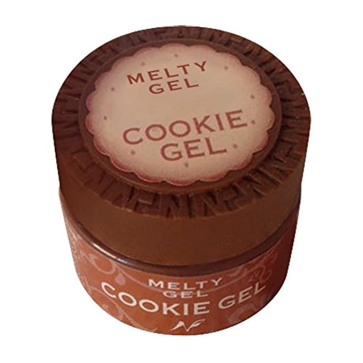 お嬢感謝怒ってNatural Field Melty Gel クッキージェル 3903サンセットレッド 5g