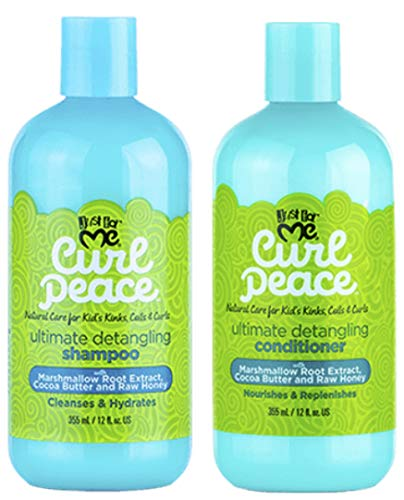 Nur für mich Curl Peace Ultimate Detangling Shampoo & Conditioner 12oz