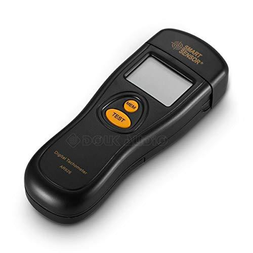 Tragbarer digitaler Laser Tachymeter Drehzahlmesser Tester für LP Schallplattenspieler
