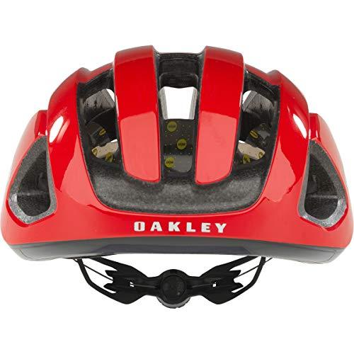 Oakley ARO3 - Casco de Bicicleta - Rojo/Negro Contorno de la Cabeza S 2018