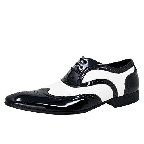 Smokies Hombres Zapato de Novia George sintético Zapatos clásicos de Laca para...