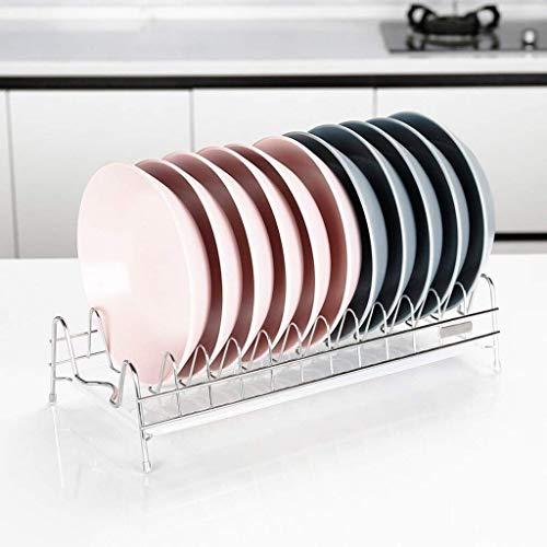 Utensilio Titular/Bastidores del plato compacto moderno Mueble de cocina, fregadero del plato estante de secado, bandeja extraíble Cubiertos - Escurrir y secar los platos Estante for Platos YUANQI