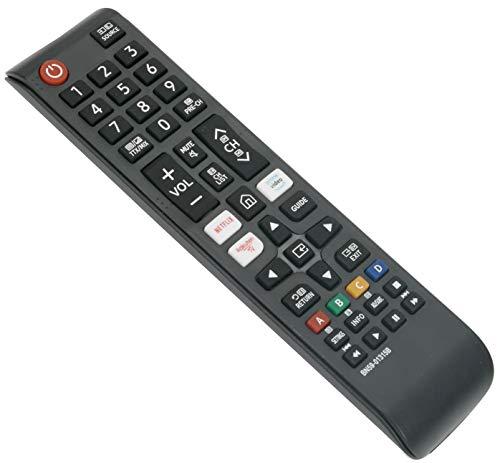 ALLIMITY BN59-01315B Fernbedienung Ersetzt für Samsung UHD 4K TV with Netflix Rakuten Button