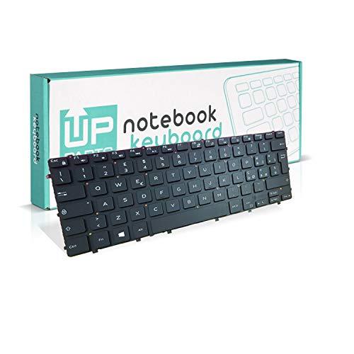 Up Parts® - Teclado para portátil XPS 13 9343, 13 9350, 13 9360, teclado italiano,...