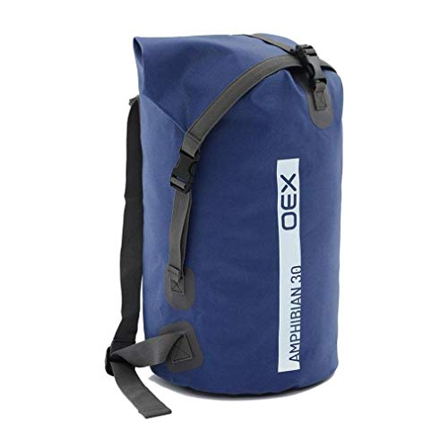 oex Amphibian Waterproof Bag 30L, Blue, One Size