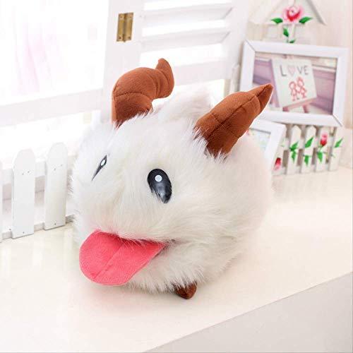 DOUFUZZ SNHPP Plüsch Spielzeug weiche Poro Puppen gefüllt & Plüsch Tier Spielzeug für Kinder hochwertige Kinder Spielzeug Geburtstagsgeschenk 35cm Weiß