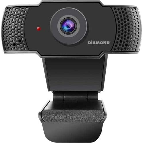 Diamond Webcam with Microphone USB Full HD 1080P Webcam for Desktop Laptop Live Streaming HD product image